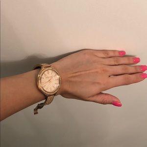 Michael Kors Accessories - Stunning Michael Korda Crystal watch